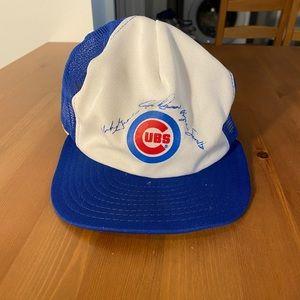 Vintage Chicago Cubs SnapBack hat USA made